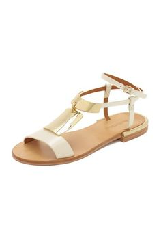 Gold Plate Sandals
