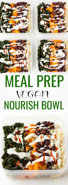 Nourish Bowl Vegan M
