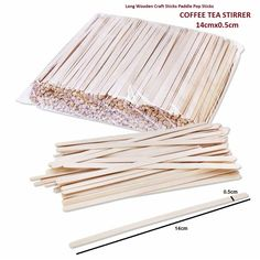 Solo Birch Wood Stirrers Coffee Stir Sticks C 7 Inch 1000 Count Disposable for sale online God's Eye Craft, Craft Stick Crafts, Wooden Craft Sticks, Wooden Crafts, Mosaic Pots, Pebble Mosaic, Mosaic Garden, Mosaic Tiles, Coffee Nook