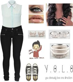 """Mini Zayn Is So Cute c;"" by latina-swagg ❤ liked on Polyvore"