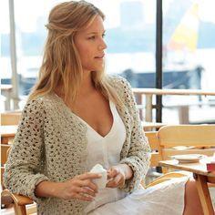 #haken, gratis Haakpatroon gehaakt vest in diverse maten, Nederlands,
