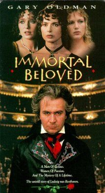 "Immortal Beloved (1994)  ""What was in my mind when I wrote this? Hmm? A man is trying to reach his lover. His carriage has broken down in the rain. The wheels stuck in the mud. She will only wait so long. This... is the sound of his agitation. This is how it is... the music is saying. Not how you are used to being. Not how you are used to thinking. But like this."""