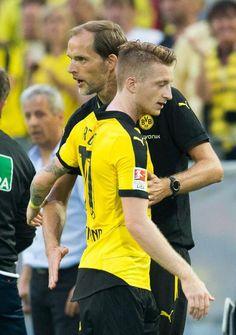 Auftakt zur neuen Saison - hier die Bilder zur Partie BVB gegen Borussia Mönchengladbach.