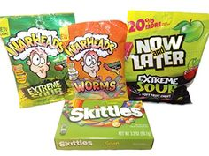 Sour Candy Movie Theater Snack Bundle - 4 Items: Now & Later, Skittles, Warheads Nestle http://www.amazon.com/dp/B01CXIVTHE/ref=cm_sw_r_pi_dp_gIX-wb1NT9HMJ