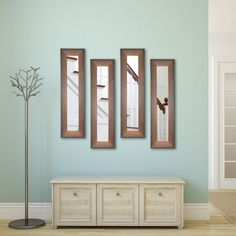 Rayne Mirrors Molly Dawn Timber Estate Wall Mirror - P52/4-16 S2