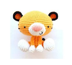 Roary the Tiger pattern by Josephine Wu, $3.95