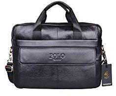 VIDENG POLO Hotest Men's Top Genuine Leather Handmade Briefcase Shoulder Messenger Business Bag