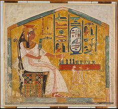 Nefertari playing Senet (tomb picture)