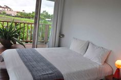 Room with a view! ;)  #bali #villa #room #rental #house #view #ricefields #nature