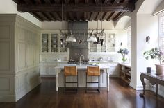 Traditional Kitchen by Artichoke - love the island