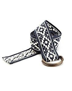 Diamond Webbing Belt - Belts - Lucky Brand Jeans