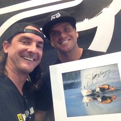 Quite possibly the most recognized wakeboard photo of all time! For a limited time only, get your hands on this personally signed 8x10 print (11x14 with matte) from legendary wakeboarder Shaun Murray and photographer Joey Meddock.