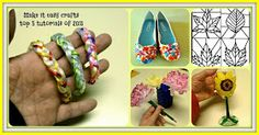 Make it easy crafts: Make it easy crafts top 5 tutorials of 2013