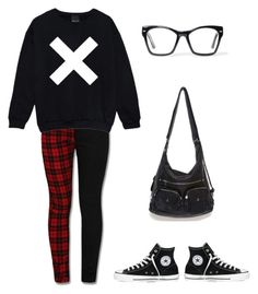 """""""Hipster punk"""" by liz-lite on Polyvore featuring Converse and Spitfire"""