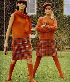 Orange plaid, Seventeen August 1966