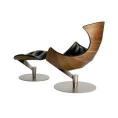 Gamut Lobster Chair & Footstool