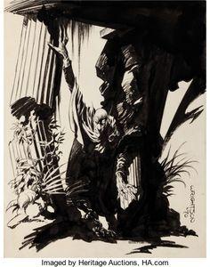 "Original Comic Art:Illustrations, Bernie Wrightson ""The Demon"" Illustration Original Art (1970)...."