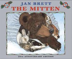 What would winter be without warm, cozy mittens? In her distinct style, renowned children's author Jan Brett has created a wonderful winter story about a lost mitten and the woodland creatures who. Literacy Activities, Winter Activities, Preschool Winter, Preschool Books, Preschool Projects, Steam Activities, Free Activities, Reading Activities, Teaching Reading