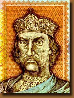 Vladimir the Great, was a prince of Novgorod, grand prince of Kiev, and ruler of Kievan Rus' from 980 to 1015. By 980, Vladimir had consolidated the Kievan realm from modern-day Belarus, Russia and Ukraine to the Baltic Sea and had solidified the frontiers against incursions of Bulgarian, Baltic tribes and Eastern nomads. Originally a follower of Slavic paganism, Vladimir converted to Christianity in 988 and Christianized the Kievan Rus'.