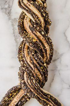 Bread Recipes, Cake Recipes, Cooking Recipes, Babka Bread, Yeast Packet, Babka Recipe, Chocolate Babka, Bread Baking, Baking Buns