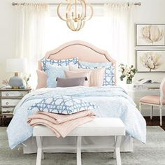 Shop for a stylish Barbados Watercolor Duvet Cover at Ballard Designs today and add the decorator bedding you'll love. Get our Barbados Watercolor Duvet Cover to spice up your favorite space! Jane Seymour, Queen Comforter Sets, Bedding Sets, Silk Bedding, King Comforter, Watercolor Bedding, French Bedroom Decor, Bedroom Ideas, Bedroom Inspiration