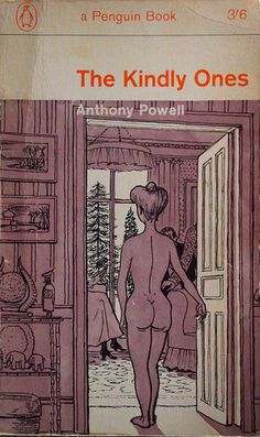 Vintage penguin cover art and design. The Kindly Ones by Anthony Powell