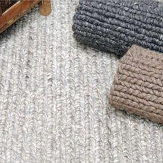 Tapis fait main zanos fusain the rug republic 160X230 - Tapis Cosy