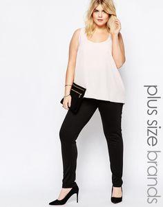 ed395c45cf1 Image 1 of Pink Clove Cigarette Pant Fashionable Plus Size Clothing