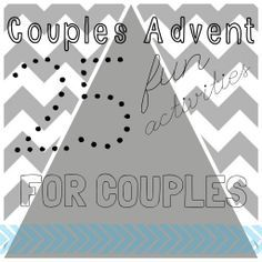 Couples Advent: 25 Fun Activities for Couples