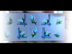 Tutorial adesivo de flor carga dupla - YouTube