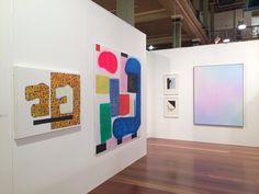 Jonathan Lasker Artist Paintings Michael Staniak Niagara Galleries Melbourne Art Fair Australia