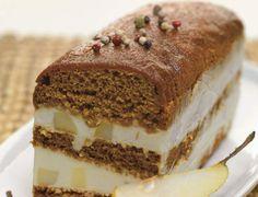 Terrine de pain d'épices aux poires et Reblochon de SavoieTerrine de pain d'épices aux poires et Reblochon de Savoie