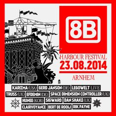 23 AUG | 8BAHN Harbor festival 2014 | Arnhem