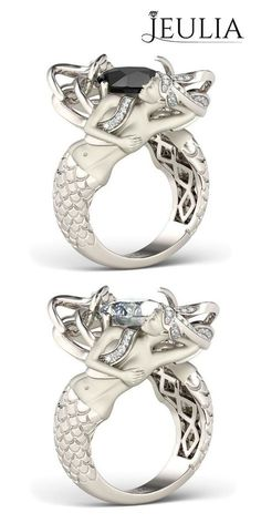 Which one is your style? Unique Design Mermaid Style from #jeulia #jewelry