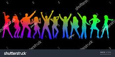 Image result for RAINBOW COLOR DANCE