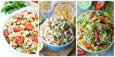 ~ 50 Pasta Salad Recipes You Need to Bring to Your Summer Potlucks....You'll love these flavorful twists on the classic, summer picnic dish.