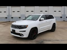 2015 Jeep Grand Cherokee SRT - Review in Detail, Start up, Exhaust Sound, and Test Drive - YouTube