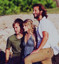 Lost -Charlie, Claire and Desmond