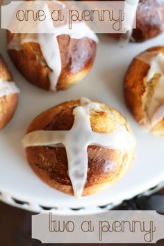 Half Baked: Hot Cross Buns (I use this icing recipe with Pioneer Woman's bun recipe)