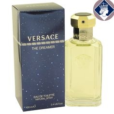 Versace The Dreamer 100ml Eau De Toilette Spray EDT Men Cologne Fragrance NEW