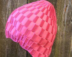 Bright Pink Playtex Swimcap Bathing cap pool beach swim Swim Caps, Bright Pink, Bathing, Florida, Swimming, My Style, Beach, Hats, Swimwear