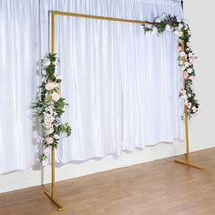 Wedding Backdrop Design, Wedding Reception Backdrop, Wedding Ceremony Decorations, Diy Wedding Arbor, Diy Wedding Photo Booth, Wedding Back Drop Ideas, Wedding Show Booth, Rustic Wedding, Wedding Ideas