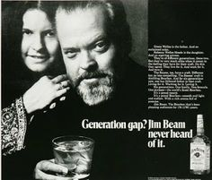 Jim Beam Whisky Orson Wells