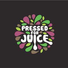 Logo Design, Lettering Design, Shape Design, Graphic Design, Rundes Logo, Typographie Logo, Juice Logo, Fruit Logo, Salad Bar