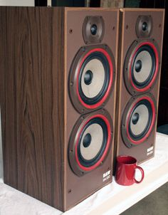 B&W 220 - Big and ugly vintage-ish speakers with surprising sound