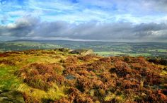 The Yorkshire Dales from Ilkley Moor