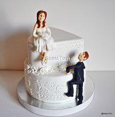 Торт свадебный 010