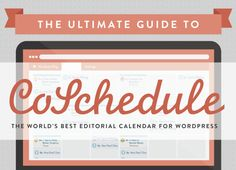 Want to get started with CoSchedule, but not sure if it's for you? Maybe you've signed up for a free trial but aren't sure what to do next. Our Ultimate Guide To CoSchedule gives you the perfect overview! You'll learn what CoSchedule is, why you need it, and how to put it to work right now.