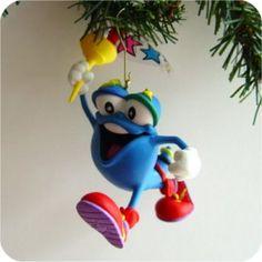 1996 - Hallmark Ornament - Izzy, Olympic Mascot - Hallmark Keepsake Christmas Ornaments