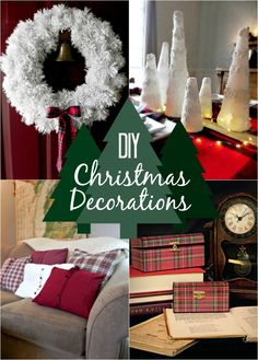 Dozens of DIY Christmas Decorations - Mad in Crafts
